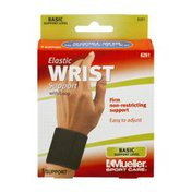 Mueller Sport Care Basic Support Elastic Wrist Support Level with Loop