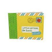 Chronicle Books Little Letters for Lunch: Keep it Short & Sweet Paperback Book