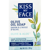 Kiss My Face Olive Oil Soap, Olive & Aloe