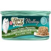 Fancy Feast Elegant Medleys Turkey Primavera Canned Cat Food