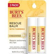 Burt's Bees Rescue Balm With Turmeric, Unscented