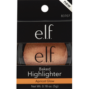 e.l.f. Highlighter, Baked, Apricot Glow 83707