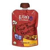 Ella's Kitchen Organic 7 Months Four Bean Feast