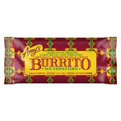Amy's Kitchen Frozen Southwestern Burrito, Made with Organic Corn, Beans and Cheese, Non-GMO