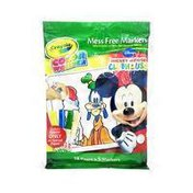 Crayola Color Wonder Mickey Mouse Pad With Mess Free Markers