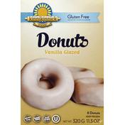 Kinnikinnick Donuts, Gluten Free, Vanilla Glazed