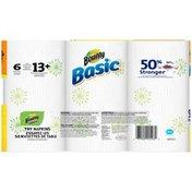 Bounty Basic Print Bulk Rolls Paper Towels