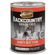 Merrick Backcountry Beef Stew Canned Dog Food