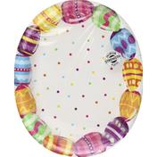 Creative Converting Oval Platter, Egg Fun
