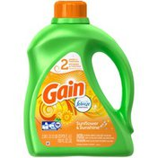 Gain Liquid with Febreze Sunflower & Sunshine Laundry Detergent