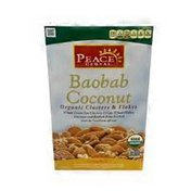 Peace Cereal Organic Clusters & Flakes, Baobab Coconut