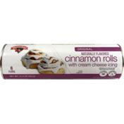 Hannaford Cinnamon Rolls with Cream Cheese Icing