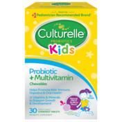 Culturelle Kids Probiotic + Multivitamin Chews
