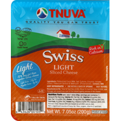 Tnuva Cheese, Sliced, Swiss, Light