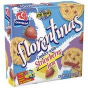 Gamesa Cookies W/Strawberry Flavored Jam Filling Florentinas