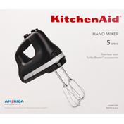 KitchenAid Hand Mixer, Stainless Steel, 5 Speed