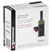 Swissmar Wine Coaster, Stainless Steel