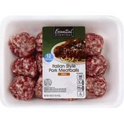 Essential Everyday Meatballs, Pork, Italian Style, Mild