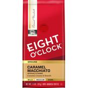 Eight O'Clock Coffee Caramel Macchiato Medium Ground Coffee