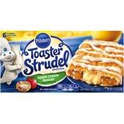 Pillsbury Toaster Strudel Apple Cream Danish Toaster Pastries