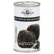 Urbani Truffles, Black Truffles and Mushrooms, Can