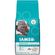 IAMS Indoor Weight & Hairball Control with Chicken Cat Food