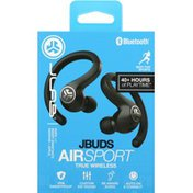 JLab Audio Jbuds Air Sport True Wireless Earbuds - Black