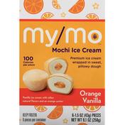 My Mo Mochi Ice Cream, Orange Vanilla