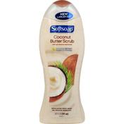 Softsoap Body Wash, Exfoliating, Coconut Butter Scrub