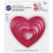 Wilton Nesting Hearts Plastic Cookie Cutters