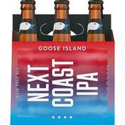 Goose Island Beer Co. Next Coast IPA Beer Bottles