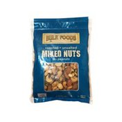 Bulk Foods Roasted Unsalted Mixed Nuts