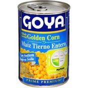 Goya Whole Kernel Golden Corn, Low Sodium