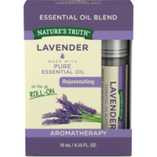 Nature's Truth Essential Oil Blend, Lavender, On the Go Roll-On
