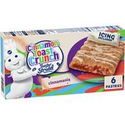 Pillsbury Toaster Strudel, Cinnamon Toast Crunch, 6 Count