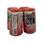Western Son Distillery Watermelon Vodka Seltzer