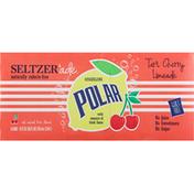Polar Sparkling Seltzer Tart Cherry Limeade - 8 CT