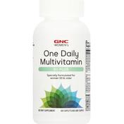 GNC Multivitamin, One Daily, 50 Plus, Caplets