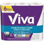 Viva Choose A Size Regular Multi Surface Cloth Sheet Paper Towels