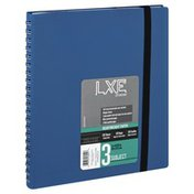 Top Flight Notebook, Heavyweight Paper, College Ruled, 3 Subject, 120 Sheets