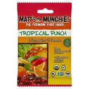 Matt's Munchies Fruit Snack, Tropical Punch