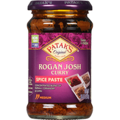 Patak's Spice Paste, Rogan Josh Curry, Medium