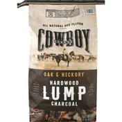 Cowboy Lump Charcoal, Hardwood, Oak & Hickory