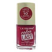L.A. Colors Color Last Nail Polish CNP80 Commitment