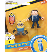 Imaginext Otto & Gru, Minions The Rise of Gru