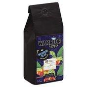 Warrior Coffee Coffee, 100% Dominican, Whole Bean, Warrior Blue