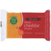 Food Club New York Sharp Cheddar Cheese