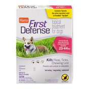 Hartz First Defense Topical Treatment for Dogs 23-44lbs - 3 CT