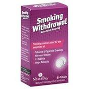 NatraBio Smoking Withdrawal, Non-Habit Forming, Tablets
