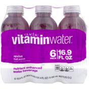 vitaminwater Revive Fruit Punch Nutrient Enhanced Water Beverage - 6 PK
